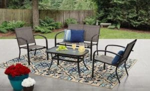 Woodland Hills Patio Furniture with Love Seat