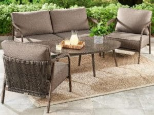 Arlo Mid-Century Modern Outdoor Seating
