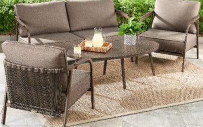 Arlo Mid-Century Modern Outdoor Seating