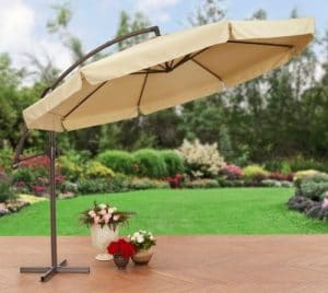 Better Homes and Gardens Offset umbrella without netting
