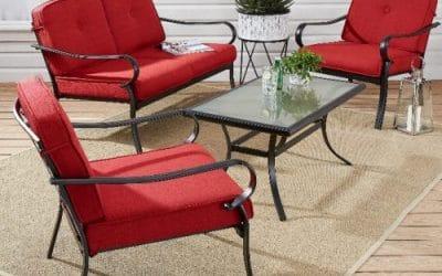 Carson Creek Metal Outdoor Furniture Patio Set