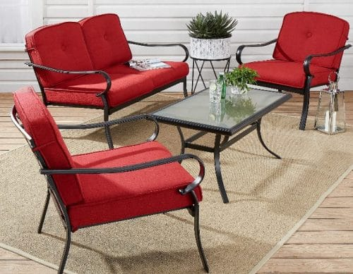 Carson Creek Metal Outdoor Furniture Patio Set