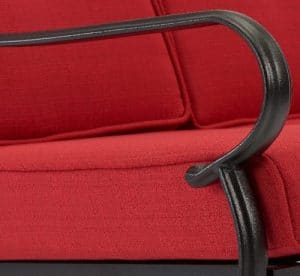 Carson Creek chair arm details