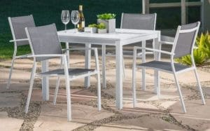 Harper modern patio dining set