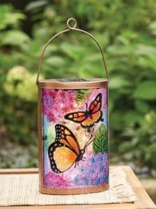 Better Homes & Gardens Solar Butterfly Lantern