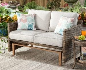 Better Homes and Gardens Davenport 2 seat outdoor glider bench