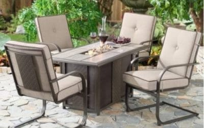 Outdoor Fire Pit Conversation Sets