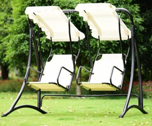 Gymax Two Person Garden Swing Review