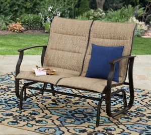Highland Knolls 2 seat outdoor glider bench