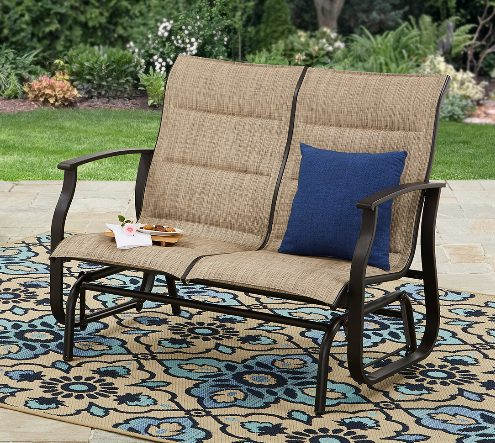 Highland Knolls patio glider