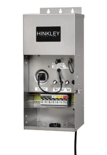 Hinkley transformer for low voltage landscape lighting