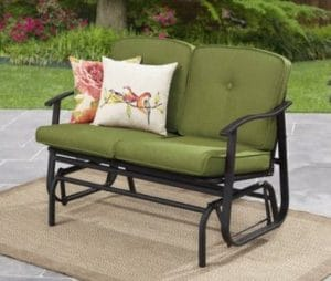 Mainstays Belden Park 2 seat outdoor glider bench