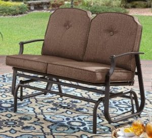 Mainstays Wentworth 2 seat outdoor glider bench