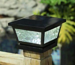 Solar Adjustable Post cap