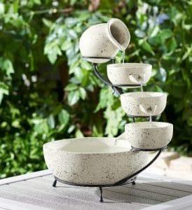 Better Homes & Gardens Calypso Solar Cascading Water fountain