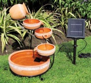 Koolscape Cascading solar fountain