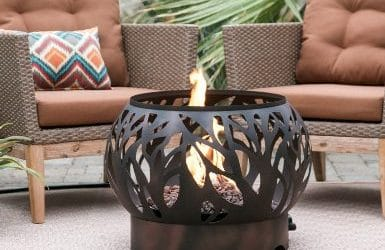 Coral Coast Cypress Outdoor Propane Fire Bowls