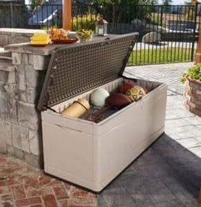 Lifetime 130 Gal storage for patios