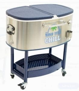 Margaritaville Patio Beverage Cart and Coolers