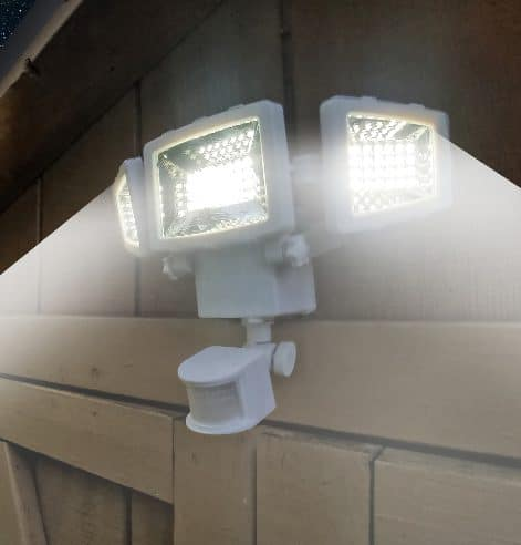 Westinghouse solar security light