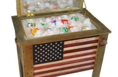 Patio Beverage Carts and Coolers for Tailgating or by the Pool