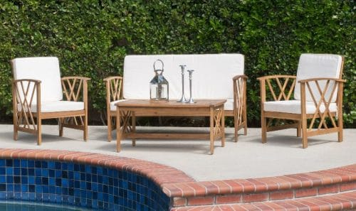 Best Acacia Wood Patio Sets Fall 2019