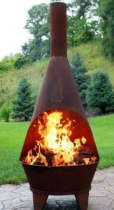 Sunnydaze Rustic Best Backyard Fire Pits