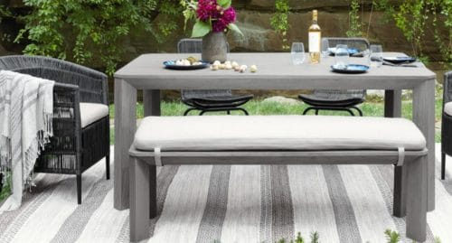 How to Make an Outdoor Room with Patio and Outdoor Rugs