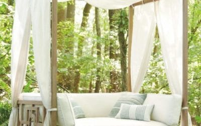 Hampton Teak Patio Deep Seating Furniture