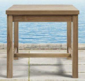 Hamptons Teak side table