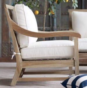 Hamptons Teak wood chair