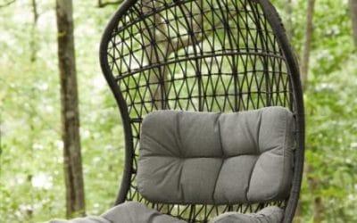 Crew Outdoor Hanging Egg Chair Swing