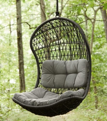 Crew Outdoor Hanging Egg Chair Swing