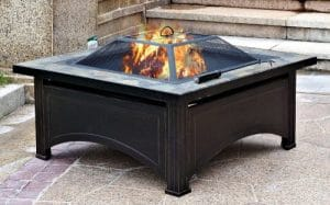 Hiland wood burning Cheap Backyard Fire Pit Ideas
