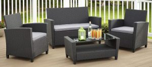 Outdoor Conversation Sets-Malmo conversation set