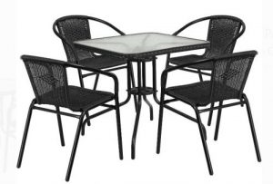 Flash Furniture Inexpensive Patio Furniture Sets