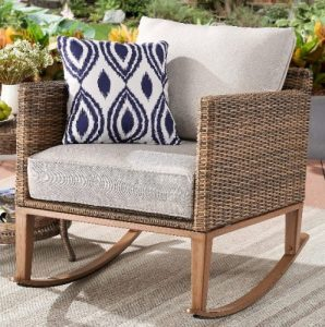 Better Homes & Gardens Davenport Wicker Rocking Outdoor Patio Furniture Chairs