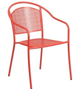 Flash Furniture Steel Outdoor Patio Furniture Chairs