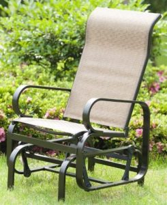PatioPost Single Seat Glider for Patio Furniture