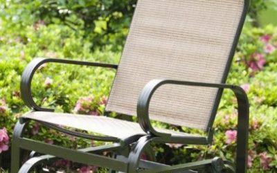 PatioPost Single Seat Glider for Patio Furniture