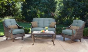 Hanover Ventura Patio Furniture with Love Seat