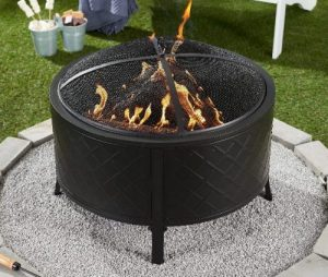 Mainstays Millbrae Grove Round Fire Pit with Covers