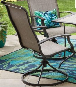 Mainstays Westmont Hills Patio Furniture Dining Sets Chairs