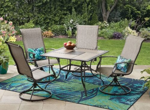 Mainstays Westmont Hills Patio Furniture Dining Sets