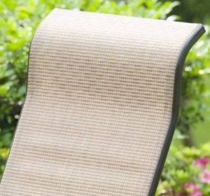 PatioPost Glider for Patio Furniture Sling Fabric