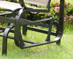 PatioPost Sling Glider for Patio Furniture Swing Arms