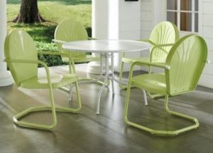 Crosley Griffith patio dining furniture sets