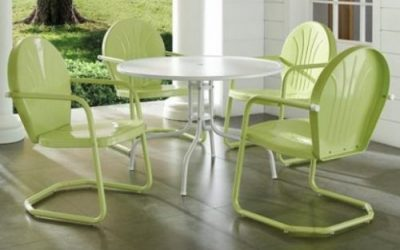 Crosley Griffith Retro Patio Dining Furniture Sets