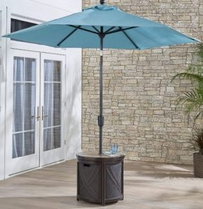 Hanover round Umbrella Stand Side Table