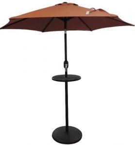 Island Umbrella stand side table